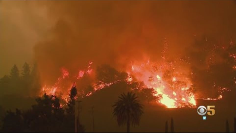 Glass Fire, Two New Wildfires Force Evacuations In Napa And Sonoma County