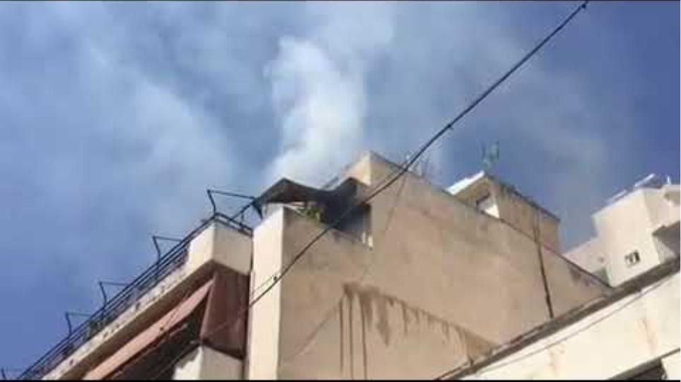 Βίντεο φωτιά Κυψέλη