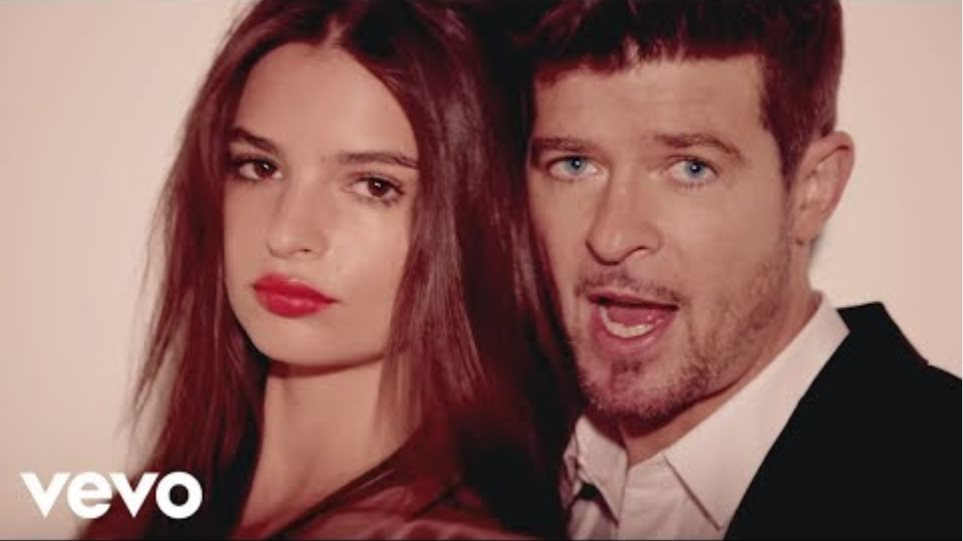 Robin Thicke - Blurred Lines ft. T.I., Pharrell (Official Music Video)
