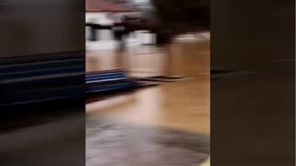 Μικρό Δέρειο: Πλημμυρισμένο το χωριό