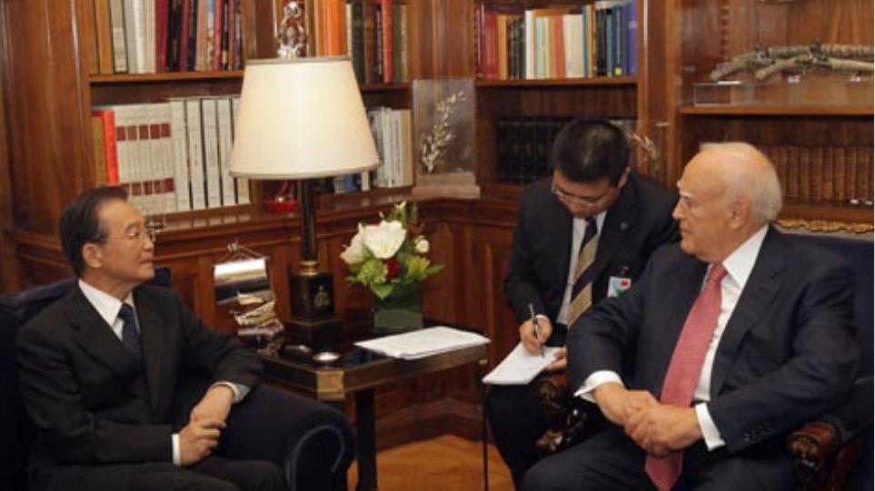 Παπούλιας: Στρατηγικής σημασίας η ανάπτυξη σχέσεων με την Κίνα