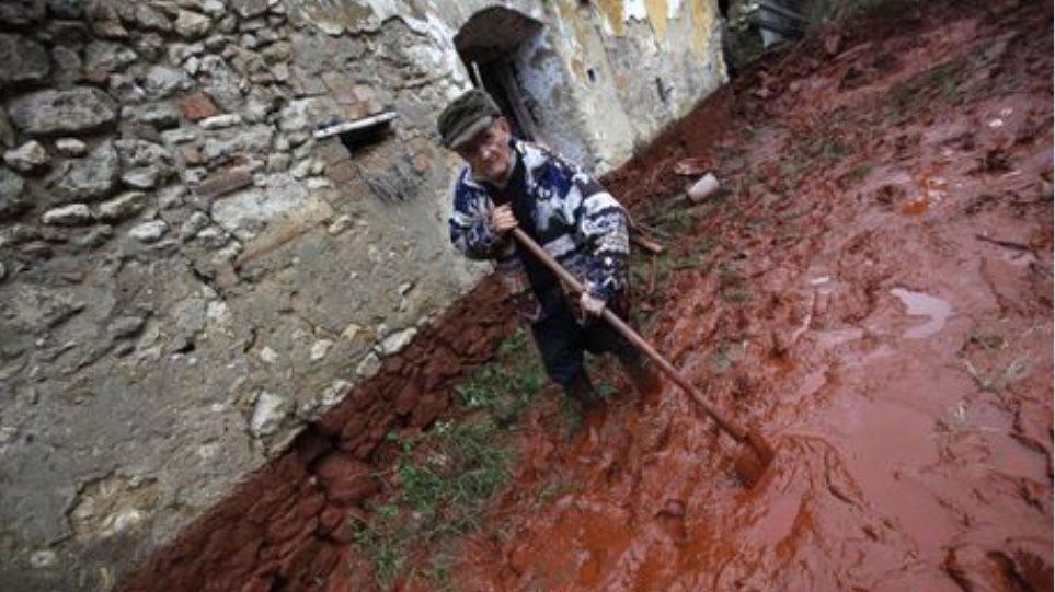 Φράγμα για την τοξική λάσπη στην Ουγγαρία