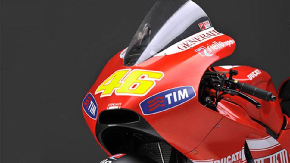 Ντεμπούτο με Ducati στην Βαλένθια ο Valentino Rossi