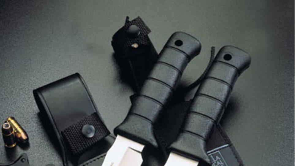 Σε έξαρση το λαθρεμπόριο… μαχαιριών!