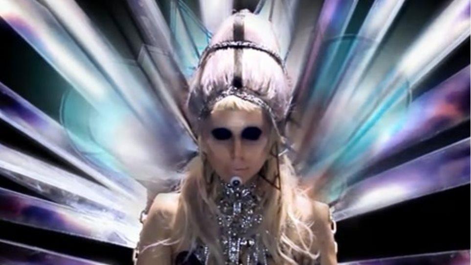 """Το """"διαστημικό"""" βιντεοκλίπ της Lady Gaga"""