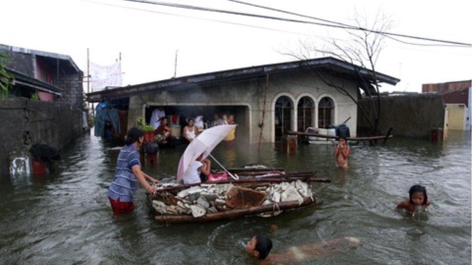 42 νεκροί από τις πλημμύρες στις Φιλιππίνες
