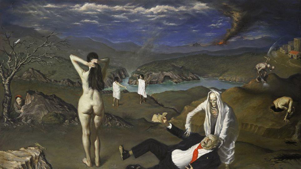 Εγκαίνια ατομικής έκθεσης Ζωγραφικής Αδριανού