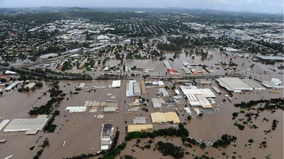 Θρήνος για τα θύματα των πλημμυρών στην Αυστραλία