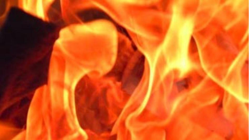 Στις φλόγες  βυζαντινό μοναστήρι στις Σέρρες