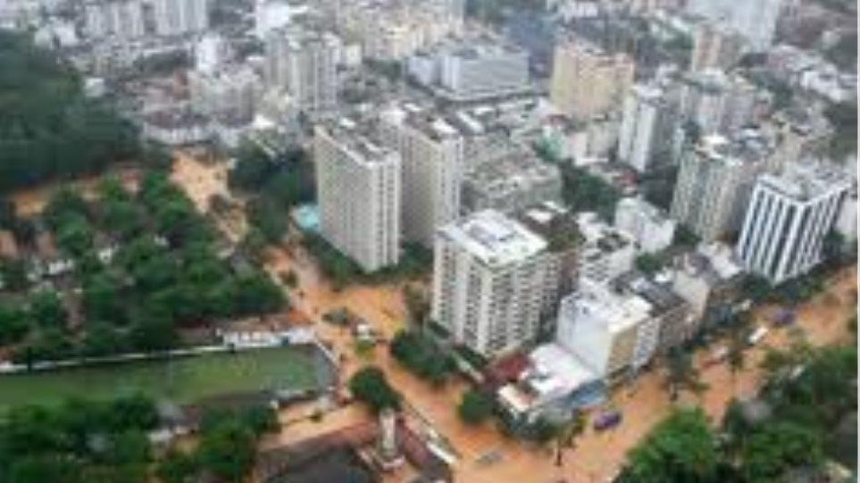Περισσότεροι από 700 οι νεκροί από πλημμύρες σε προάστιο του Ρίο