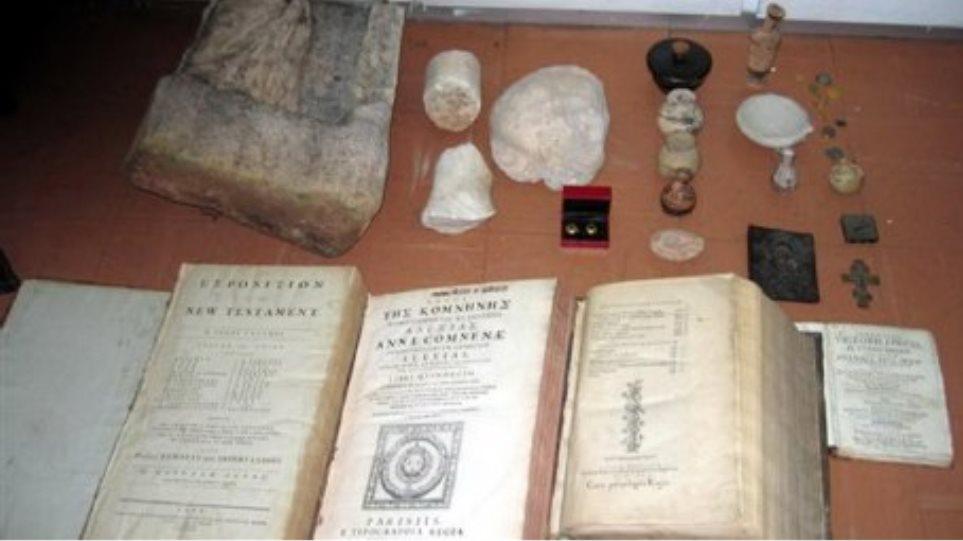Στα πράσα έπιασαν αρχαιοκάπηλους στις Σέρρες