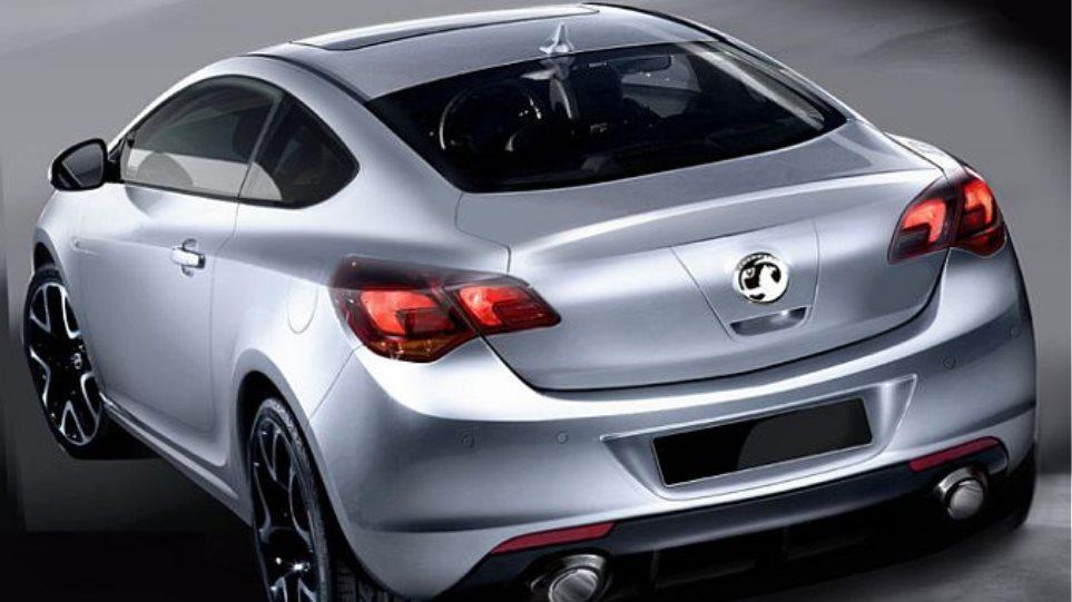 Αποκάλυψη: Το Opel Astra coupe!