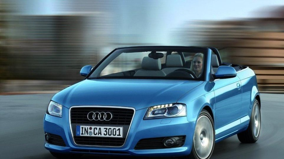 To Audi A3 Cabriolet με τον 1.2TSi