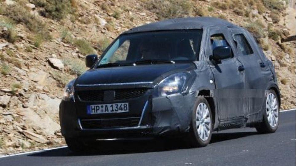 Εθεάθη το ανανεωμένο Suzuki Swift