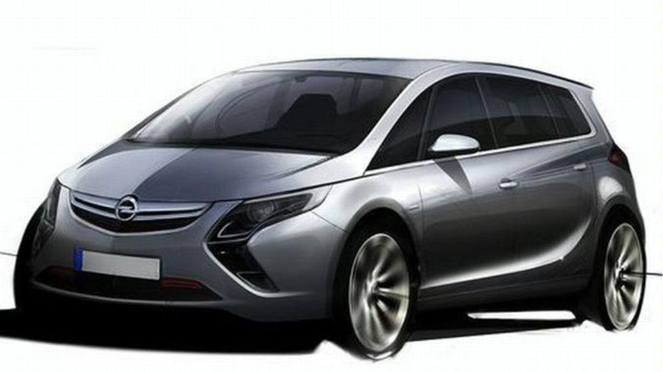 Έρχεται το νέο Opel Zafira!