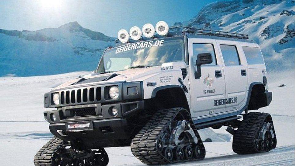 Ένα Hummer για ειδικές αποστολές!
