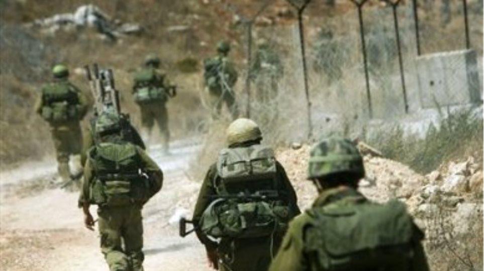Ισραηλινά πυρά κατά του λιβανικού στρατού