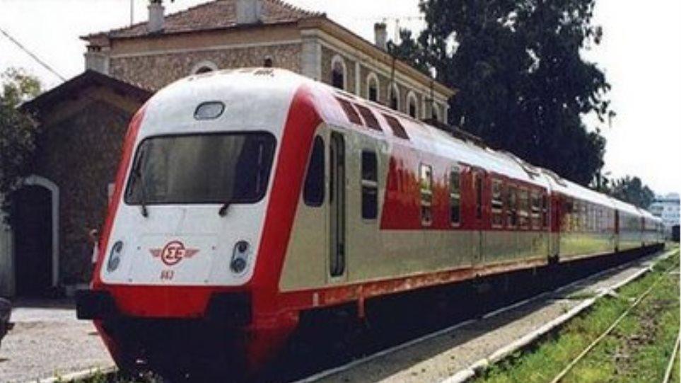 Ζημιές σε τραίνο από κλοπή καλωδίων του ΟΣΕ