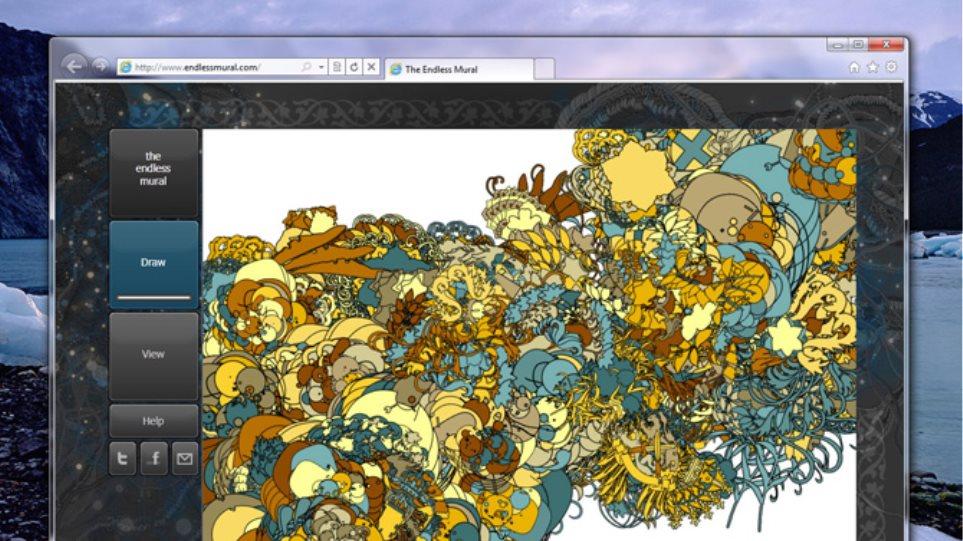 Ο νέος Internet Explorer στις οθόνες σας!