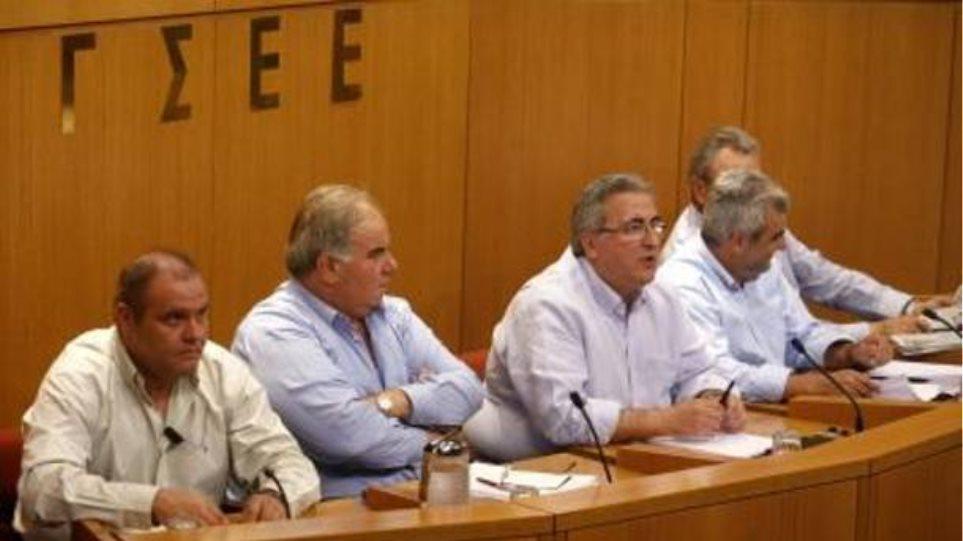 ΓΣΕΕ: «Ναι στις προσλήψεις - όχι σε απολύσεις»
