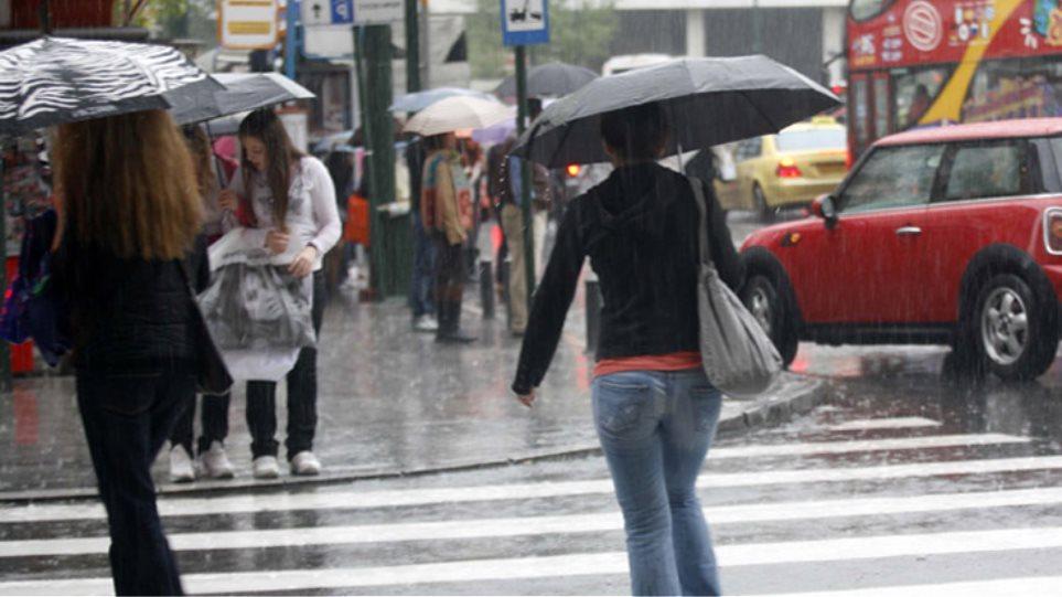 Αλλαγή σκηνικού με βροχές και καταιγίδες