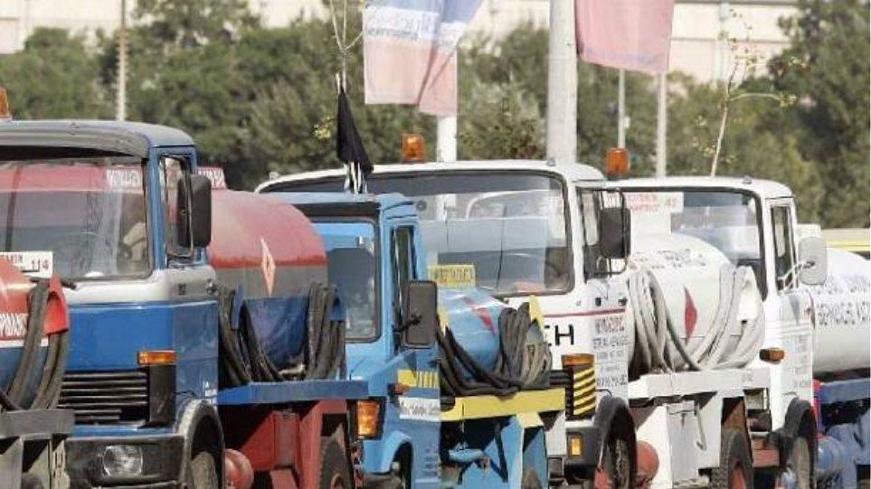 Πορεία των φορτηγών και στην Τρίπολη