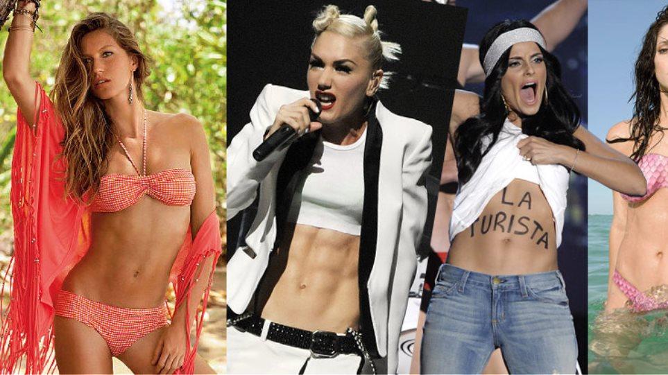 Οι πιο sexy κοιλιακοί του Hollywood