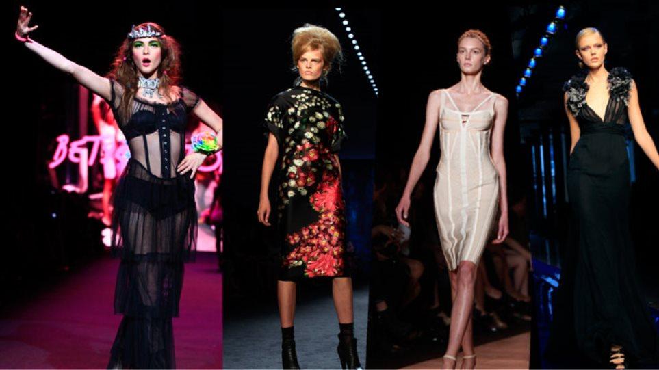 Μόδιστροι και top models που λάμπουν στη Νέα Υόρκη