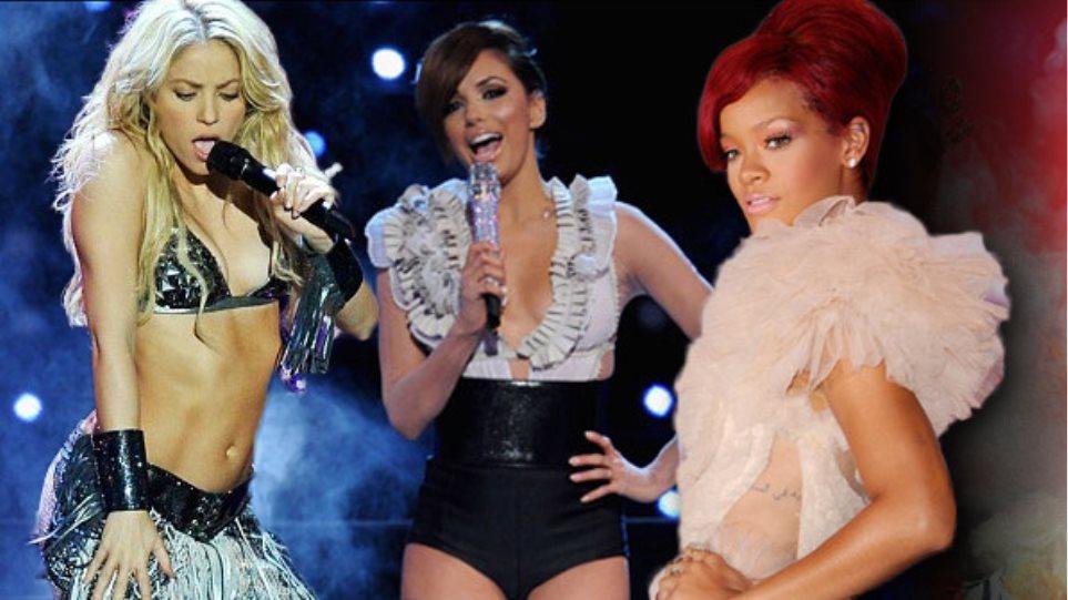 Η σικ Rihanna και η απεγνωσμένη Longoria!