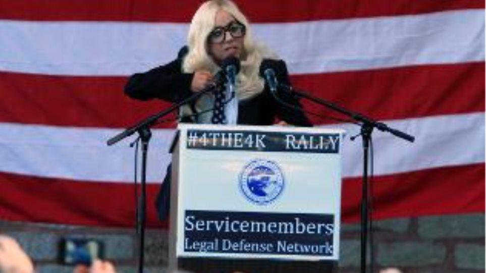 Lady Gaga: Σε συλλαλητήριο για τα δικαιώματα των ομοφυλοφίλων(video)