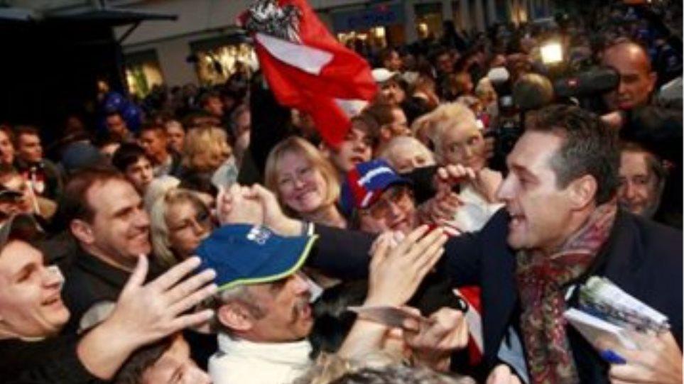 """""""Αιματηρός"""" προεκλογικός αγώνας της Ακροδεξιάς για το Δήμο Βιέννης"""