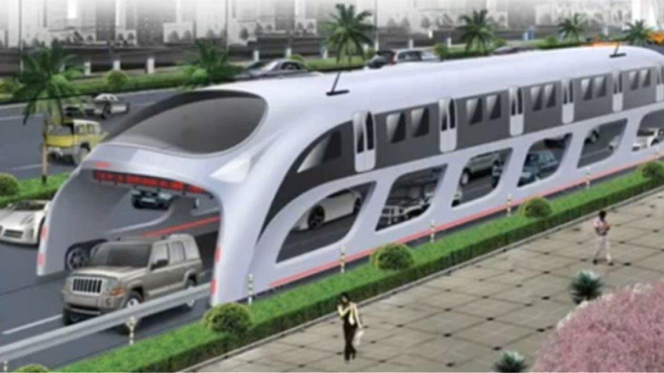 Ιπτάμενο λεωφορείο στην Κίνα