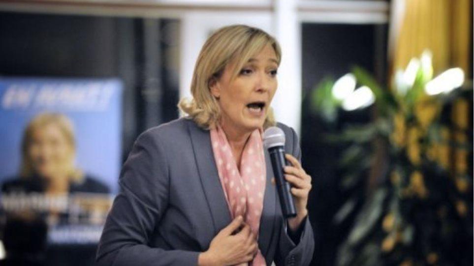 Η Μαρίν Λε Πεν επικεφαλής του Εθνικού Μετώπου