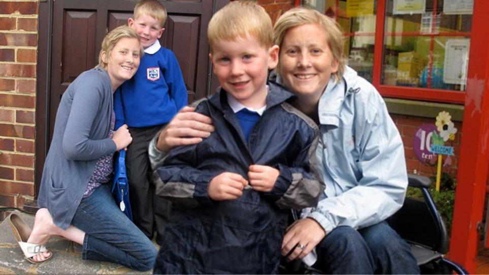 Πάλεψε τον θάνατο για να δει τον γιο της στο σχολείο!