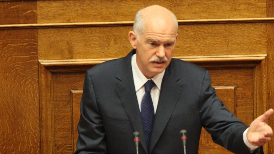 «Κατηγορώ» Παπανδρέου για ΣΥΡΙΖΑ