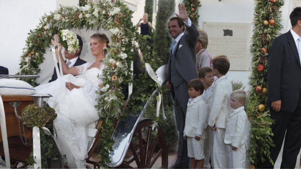 Βασιλικός γάμος στις Σπέτσες