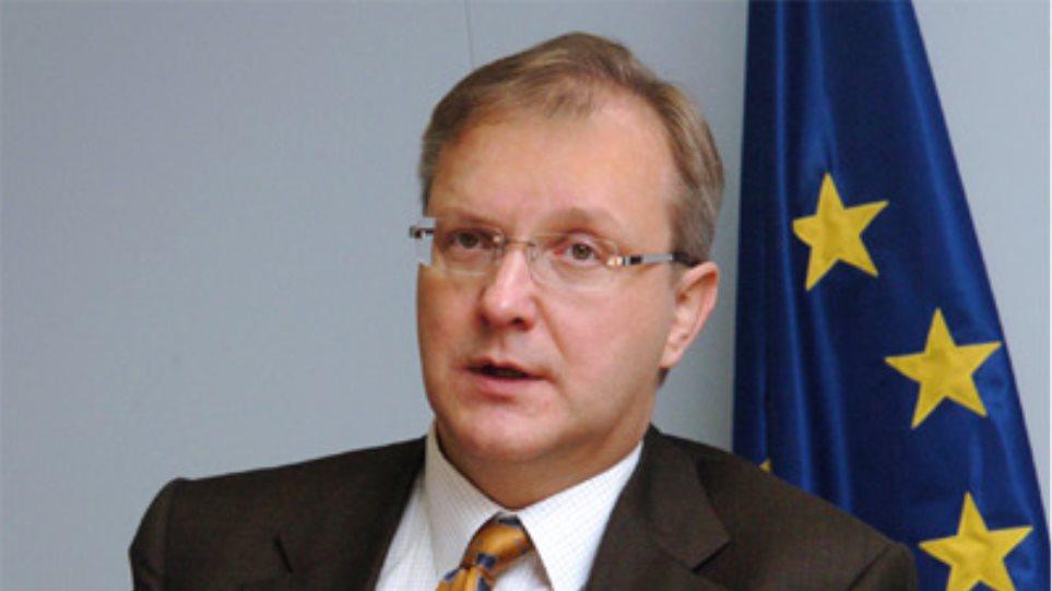 Πρόστιμα στα «μαύρα πρόβατα» της ευρωζώνης εισηγείται ο Όλι Ρεν