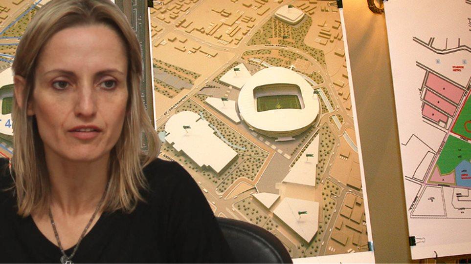 """Γήπεδο και """"Mall"""" στον Βοτανικό, αλλά με περισσότερο πράσινο"""