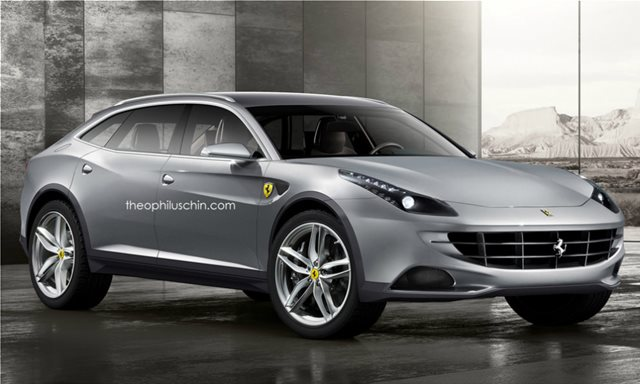 Mε υβριδικό σύστημα το πρώτο SUV της Ferrari