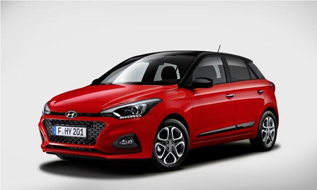 Η Hyundai ανανεώνει το i20
