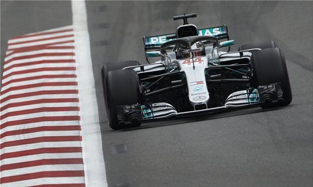 GP Ισπανίας: Άνετη νίκη Hamilton