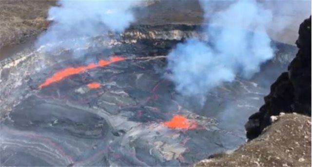 Ηφαίστειο έτοιμο να εκραγεί στη Χαβάη - 250 σεισμοί σε ένα 24ωρο
