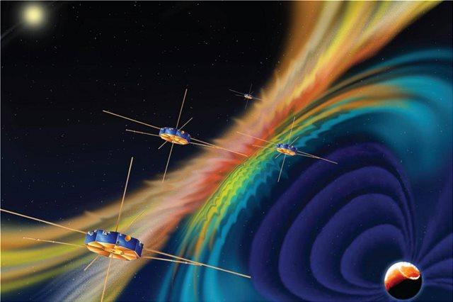 Η NASA έλυσε το μυστήριο του μαγνητικού πεδίου που στροβιλίζεται γύρω από τη Γη