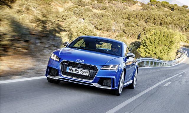 Δοκιμάζουμε το Audi TT RS Coupe των 400 ίππων