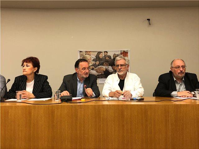 Λαφαζάνης: Ο Τσίπρας αρνείται να στείλει ανθρωπιστική βοήθεια στους Παλαιστίνιους