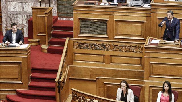 Μετωπική Τσίπρα-Κυριάκου σε κλίμα εκλογών