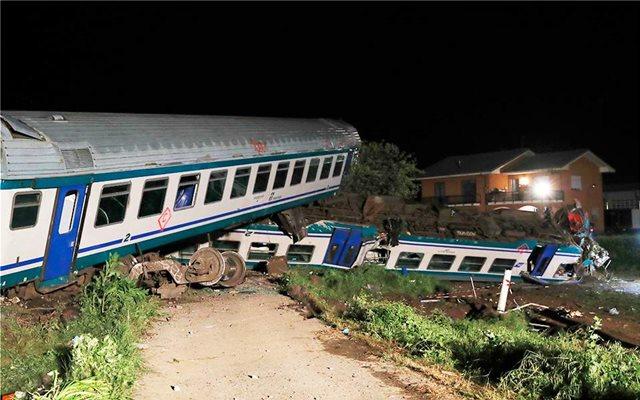 Ιταλία: Δύο νεκροί, πολλοί τραυματίες εξαιτίας σύγκρουσης τρένου με φορτηγό