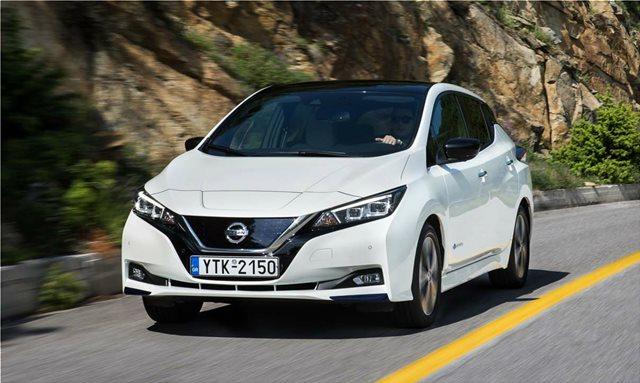 Το Nissan Leaf λανσάρεται στην Ελλάδα