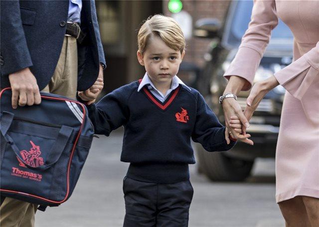 Τζιχαντιστής ήθελε να δηλητηριάσει τον 4χρονο πρίγκιπα Τζορτζ στο σχολείο του!