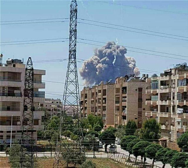 Επίθεση με πυραύλους σε αεροδρόμιο της Συρίας